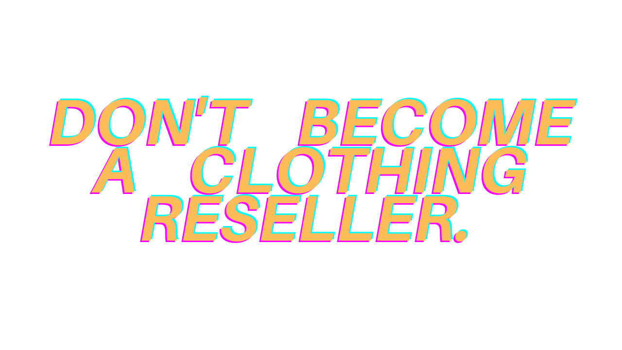 5 Reasons NOT To Start Selling Used Clothing Online
