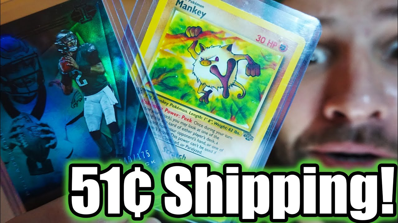 how to ship collectible cards for free