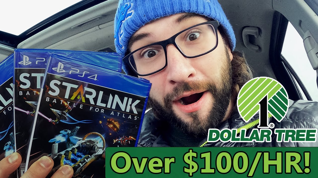 Sony Playstation 4 Games at Dollar Tree for Retail Arbitrage!